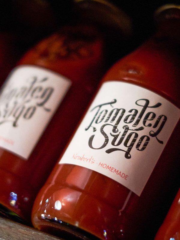 Tomaten Sugo Flaschen Neuberts
